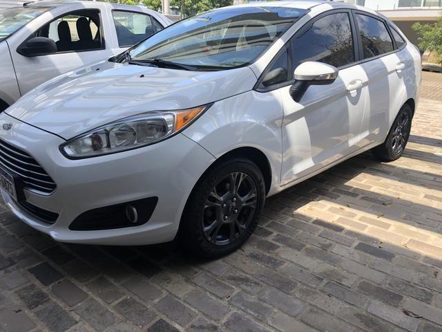 New Fiesta Sedan Automático 1.6 Impecável - Foto 4