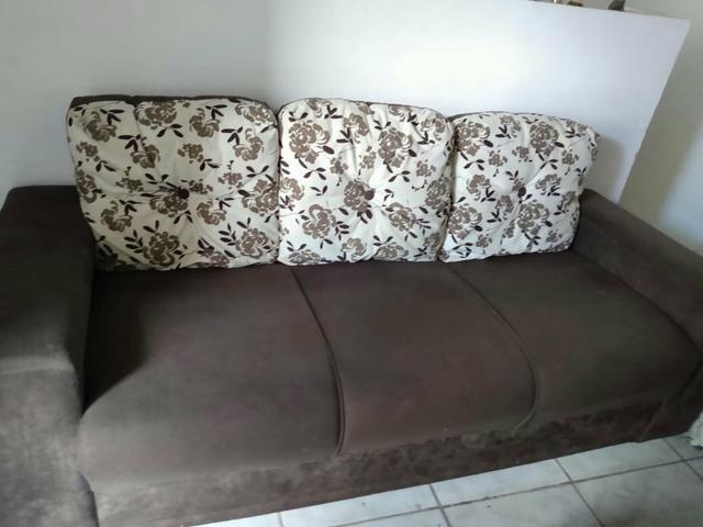 Vendo 1 conjunto de sofá - Foto 2