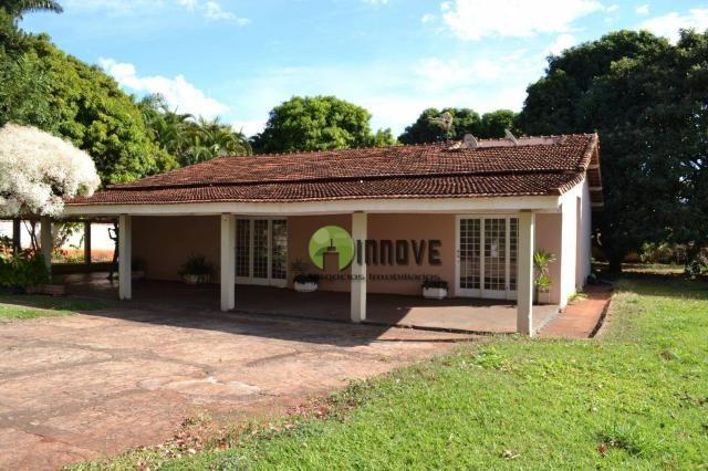 Chácara com 4 dormitórios à venda, 2450 m² por r$ 600.000 - condomínio estância beira rio  - Foto 3
