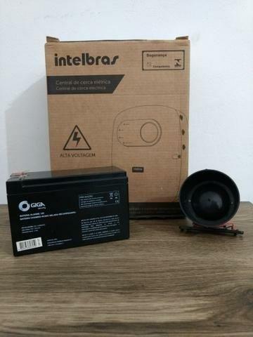 Kit Central de Choque com sirene e bateria Intelbras ELC 5001 - Foto 4