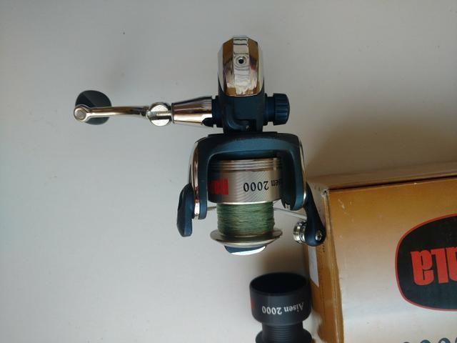 Kit de pesca novo - Foto 4