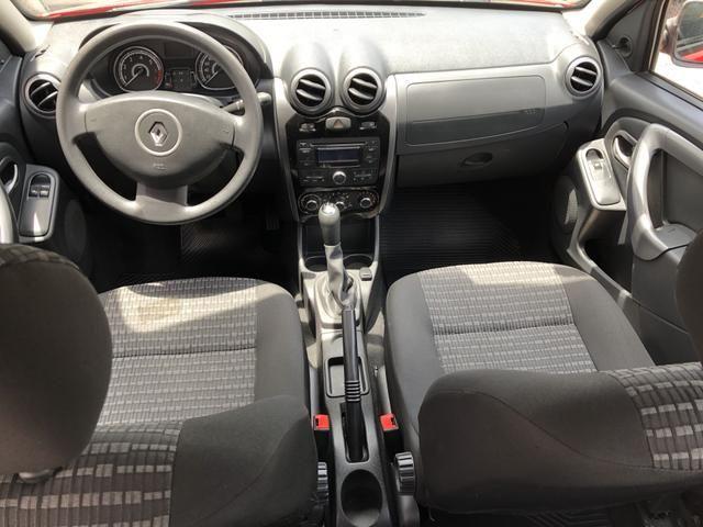 Renault Sandero EXP 1.0 completo ano 2014 - Foto 5