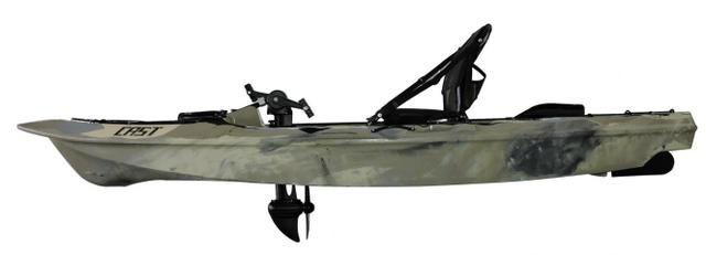 Caiaque de Pesca com Pedal Cast Milha Náutica - Foto 4