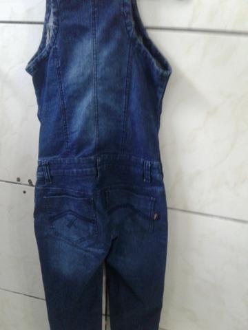 Macacão jeans comprido - Foto 3