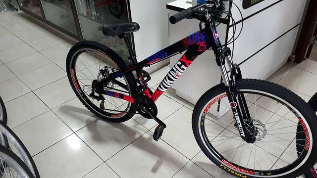 Bicicleta Vikingx tuff freio a disco