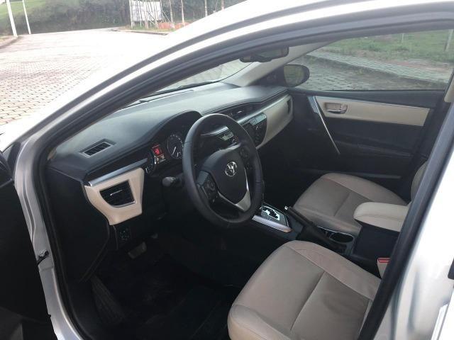Toyota Corolla Altis Top de linha Único dono Baixo KM - Foto 5