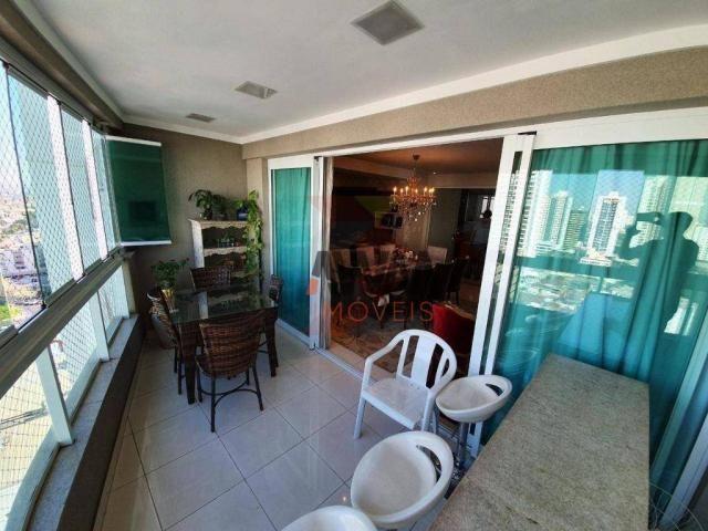 Apartamento com 4 suítes à venda, 170 m² por R$ 960.000 - Setor Bueno - Goiânia/GO - Foto 5
