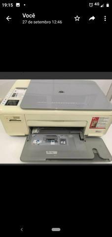 Impressora HP sem cartuchos