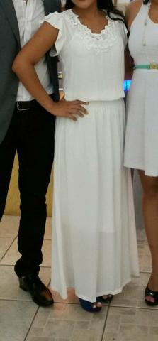 Vendo vestido Longo Branco