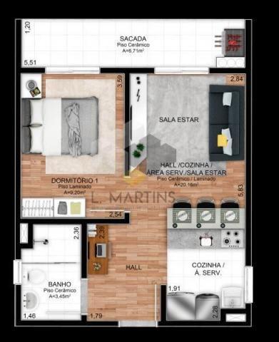 Apartamento para venda em novo hamburgo, rondônia, 2 dormitórios, 1 banheiro, 1 vaga - Foto 11