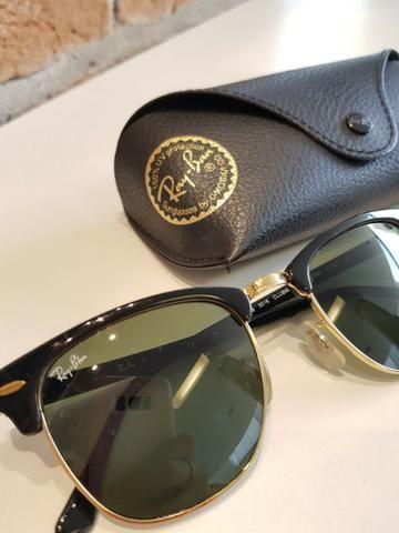 Óculos de Sol Ray Ban Clubmaster - Bijouterias, relógios e ... e0a985b397