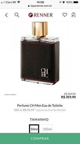 Perfume Ch Men Carolina Herrera Beleza E Saúde Areao Taubaté