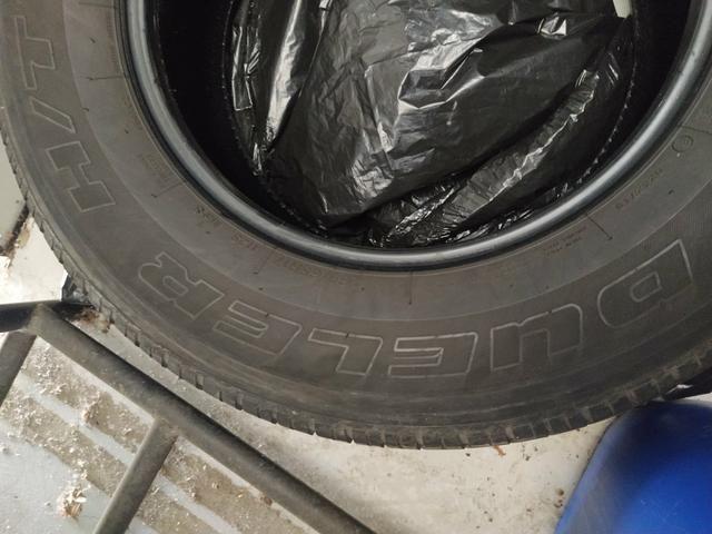 Pneu Bridgestone Dueler Par aro 17 Hilux 265/65-17 - Foto 5