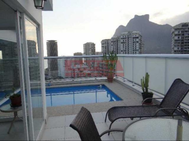 Apartamento à venda com 3 dormitórios em São conrado, Rio de janeiro cod:GACO30029