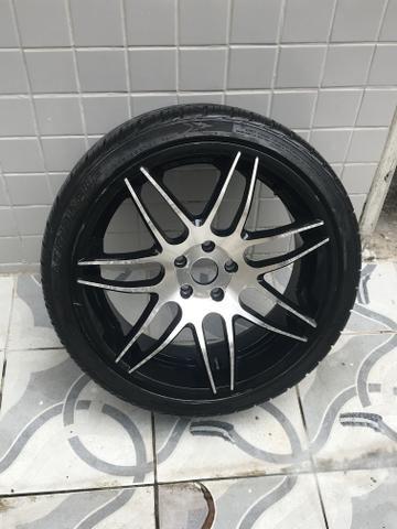 Rodas 20 com pneus