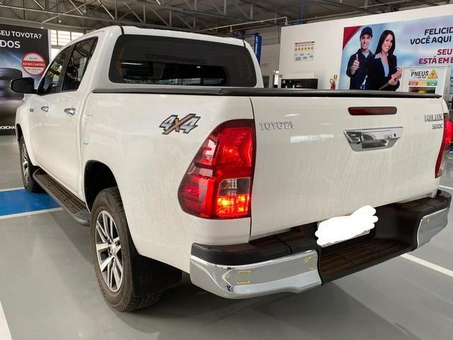 Toyota Hilux 2018/2018 SRX Branca - Foto 2