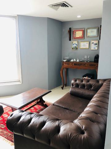 Sala mobiliada internet sem fiador e pagar e entrar r$ 999,0 coworking - Foto 9