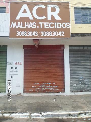 Loja na Avenida Minas Gerais (na região de malhas e tecidos)