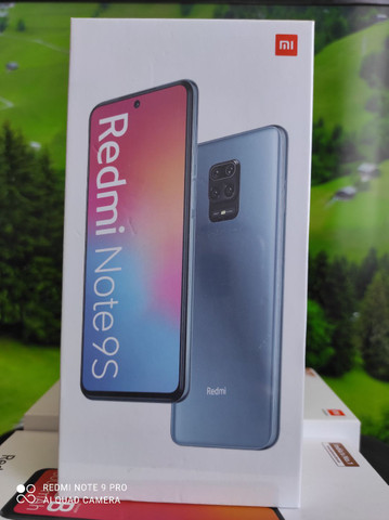 Redmi Note 9s da Xiaomi.. Presentão.. NOVO × LACRADO  COM GARANTIA e entrega hj