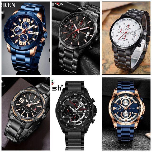 Relógios masculinos originais exclusivos - Foto 3