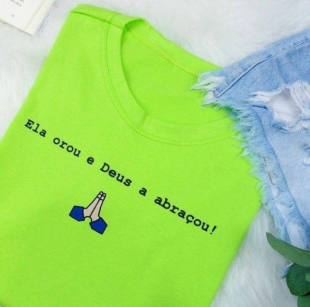 Camisetas feminina - Foto 6