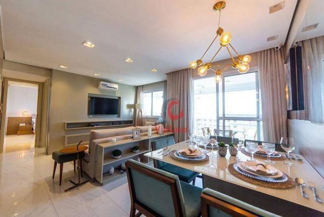 Apartamento com 2 dormitórios à venda, 63 m² por R$ 310.000,00 - Glória - Macaé/RJ - Foto 7