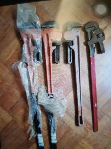 Vendo chave grifo 48 e 36 polegadas - Foto 2