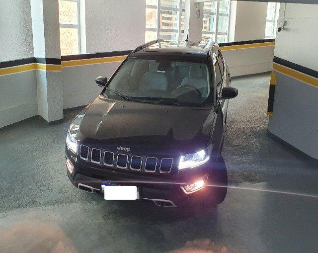 Jeep Compass Limited Diesel com Teto Solar, Park Assist (estaciona sozinho), 18/18 - Foto 9