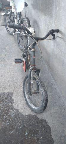 Vende-se ou  troca bicicleta aro 16 em outra bicicleta  - Foto 2