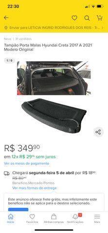 Vendo Tampão Porta malas do Hyundai Creta. - Foto 2