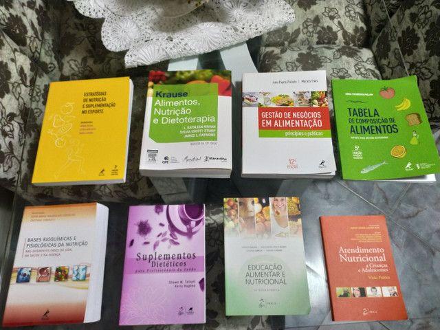 Livros de nutrição, vendo individual também - Foto 3