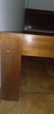 Cama de Solteiro de madeira Maciça - Foto 4