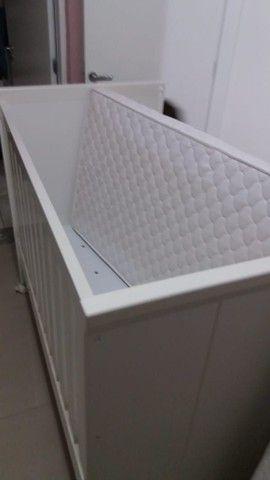 Berço cama + colchão  (semi novo)  - Foto 3