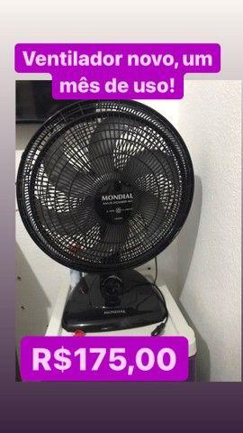 Ventilador novo com 1 mês de uso.