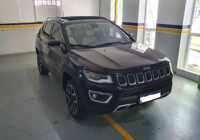 Jeep Compass Limited Diesel com Teto Solar, Park Assist (estaciona sozinho), 18/18 - Foto 4
