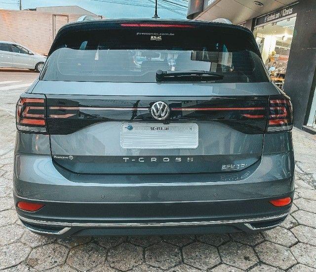 VW T-Cross (2020) Cinza - Versão TOP de Linha Highline com Parl Assist, Som Beats ! - Foto 6