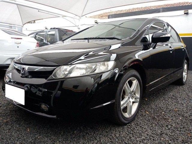 Honda Civic lxl 1.8 cinza 16v flex 4p aut.