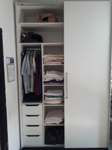 Vendo guarda roupa planejado branco gelo - Foto 2
