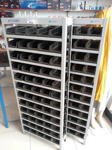 Estante gaveteiro com 60 gavetas n°03 - Foto 2