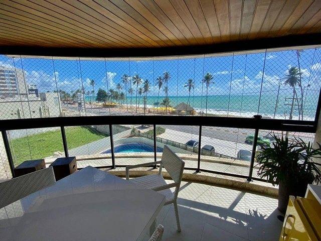 Apartamento para venda possui 200 metros quadrados com 3 suites mais dce.Ponta Verde - Mac - Foto 4