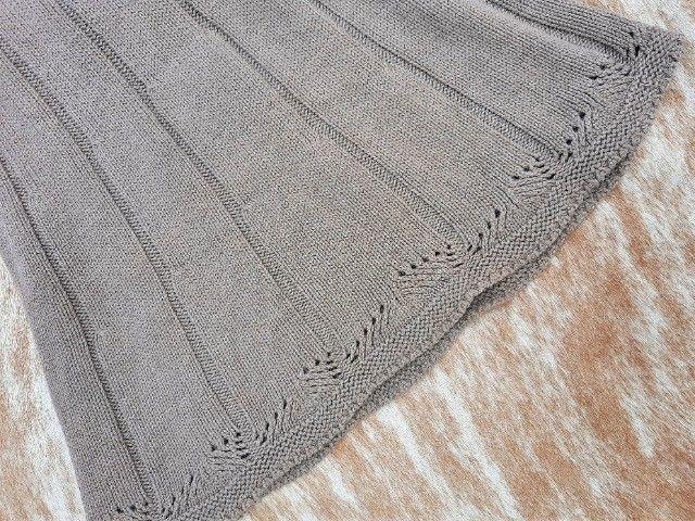 Vestido manga longa de tricot - Foto 2