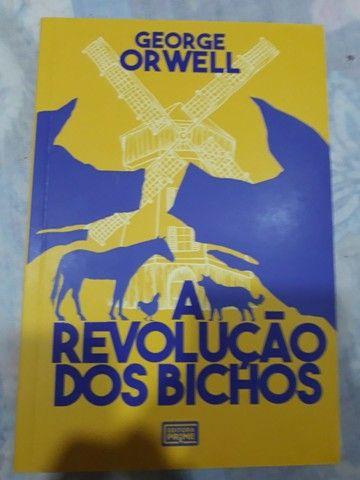 A revolução dos bichos - livro