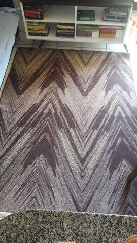 Desapegando tapete.  Usado 2 meses.  1,45x200 - Foto 2