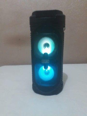 Caixa de som Bluetooth Usb Wireless Speaker Kimiso Kms-6681 - Foto 4