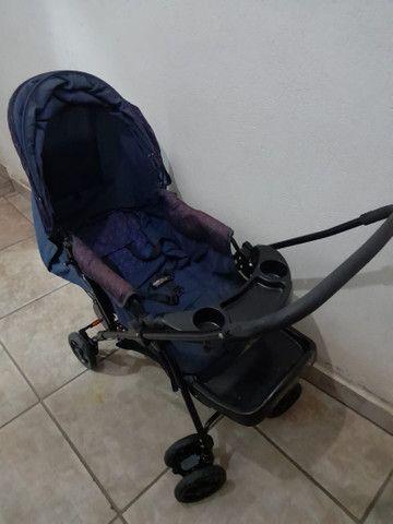 Carrinho de Bebê Dobrável - Foto 2