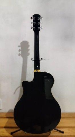 Violão Yamaha APX700 troco em Violão de Nylon e Bicicleta. - Foto 2
