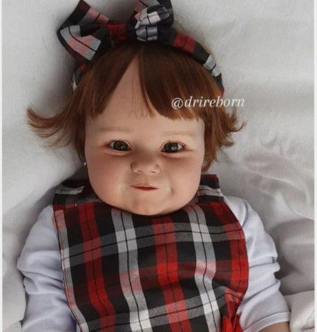 Bebê reborn realista kit Maddie 60cm - Foto 3