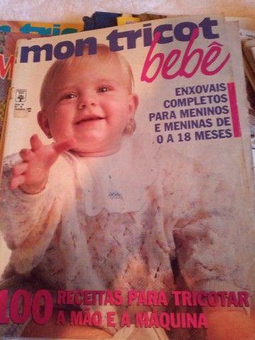 Coleção de revistas de tricô  - Foto 2