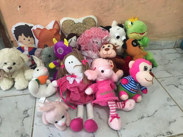 20 ursos de pelúcia para menina