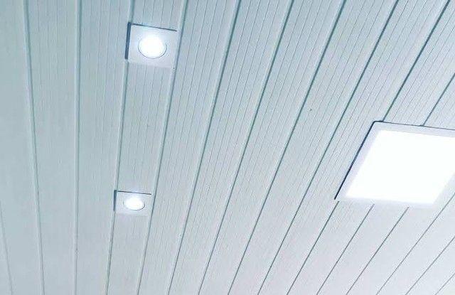 Forro de PVC Branco e Madeirado - Promoção Imperdível!!! - Foto 3